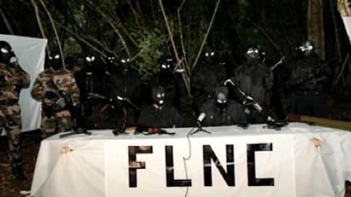 """Le communiqué du FLNC, qui s'est déclaré mardi prêt à reprendre les armes, a été authentifié comme émanant du mouvement dit du """"22 octobre""""."""