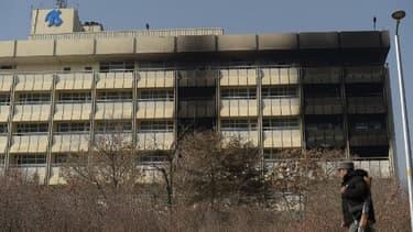 L'hôtel Intercontinental dans lequel a eu lieu un attentat le 22 janvier 2018 à Kaboul