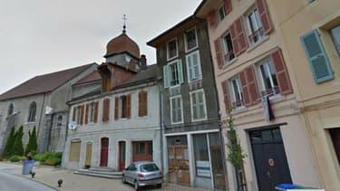 L'église de Moirans-en-Montagne, dans le Jura, où le prêtre mis en cause par une paroissienne, officiait.