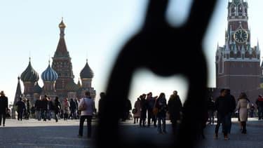 La Place Rouge, à Moscou, où se trouve le Kremlin (photo d'illustration).