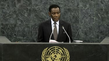 Le président équato-guinéen Teodoro Obiang Nguema le 26 septembre 2013 à New York