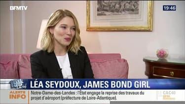 Léa Seydoux face à Ruth Elkrief