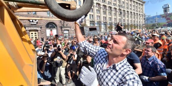 L'ancien boxeur et maire de Kiev, Vitali Klitschko