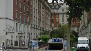 Vue de la résidence dans laquelle l'élu UMP Geoffroy Boulard occupe un logement social.