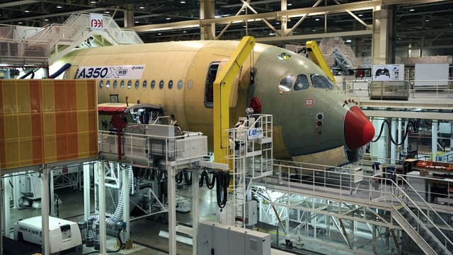 Airbus a presque réussi à tenir son objectif de 50 livraisons d'A350 sur l'année