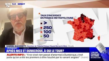 """Pour le directeur de cet hôpital de Metz, """"la question du confinement peut se poser"""" en Moselle"""