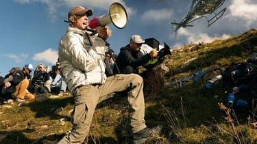 Michael Bay sur le tournage de Transformers  The Last Knight