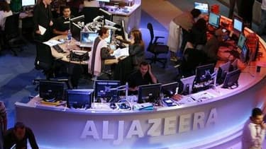 La rédaction d'Al-Jazeera à Doha