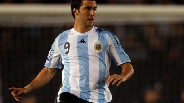 Gonzalo Higuain aurait pu porter le maillot de l'équipe de France dans cette Coupe du monde
