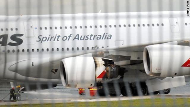 Un A380 de la compagnie Qantas a dû atterrir en urgence à Singapour après l'explosion d'un de ses moteurs.
