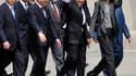 Nicolas et Carla Sarkozy sont arrivés ce mercredi matin en Chine pour une visite d'Etat de trois jours au cours de laquelle le président français mêlera tourisme et diplomatie au service de la réconciliation franco-chinoise. Le couple présidentiel françai