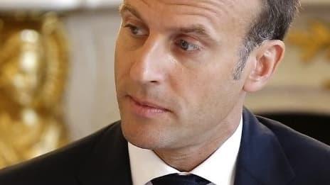 Emmanuel Macron le 3 août 2018