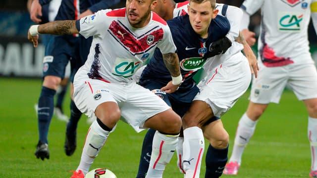 Julien Faubert sous les couleurs de Bordeaux en 2015.
