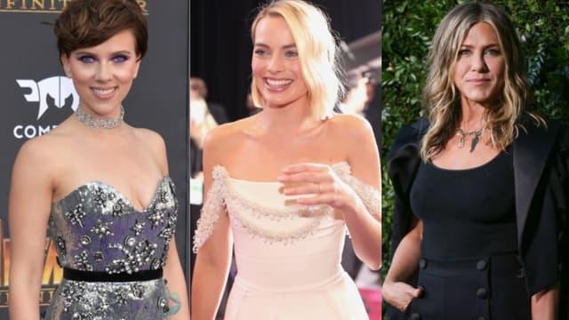 Scarlett Johansson, Margot Robbie, Jennifer Aniston