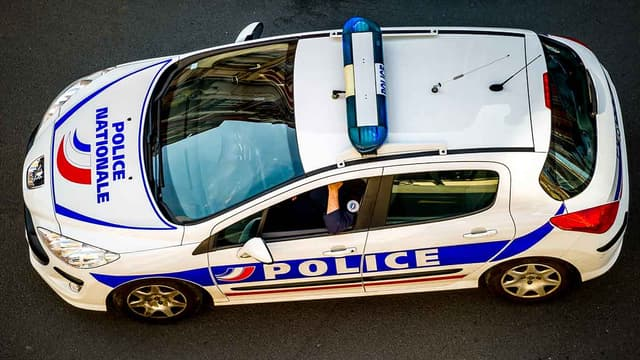 Une voiture de police. (Photo d'illustration)