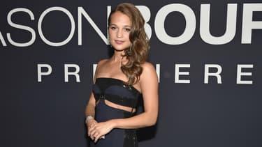 """Alicia Vikander à la première de """"Jason Bourne"""" à Las Vegas, le 18 juillet 2016"""