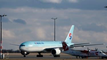 Un Boeing 777, qui sera bientôt remplacé par le 777X.