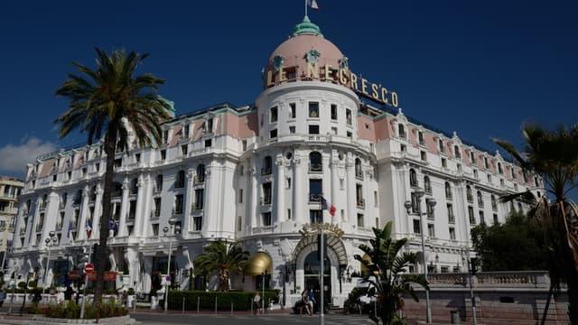 L'hôtel Negresco à Nice (Alpes-Maritimes).