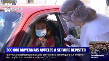 Coronavirus: 300.000 habitants appelés à se faire dépister en Mayenne