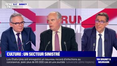 Frédéric Mitterrand face à Éric Brunet et Laurent Neumann - 10/07