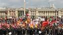Quelques milliers de personnes se sont rassemblées mercredi devant l'Assemblée nationale pour demander le retrait du projet de réforme des retraites que les députés devaient voter dans la journée. A l'appel des organisations syndicales CGT, FO, CFTC et Su