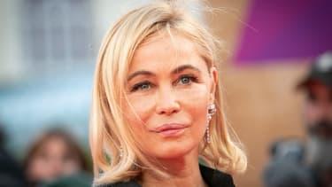 La comédienne Emmanuelle Béart en septembre 2019 au festival de Deauville