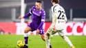 Franck Ribery avec la Fiorentina face à la Juventus