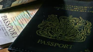 La couverture des passeports britanniques changera de couleur  l'occasion du Brexit. (image d'illustration)