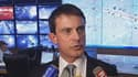 Manuel Valls dimanche soir a fait le bilan des débordements de la manifestation.
