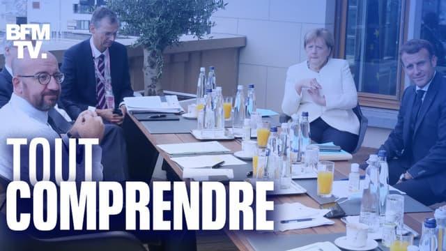 Les dirigeants européens sont réunis à Bruxelles depuis vendredi pour discuter du plan de relance de l'UE
