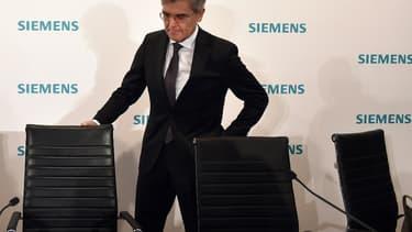 Joe Kaeser, PDG de Siemens