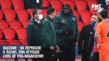 Racisme : Ba reproche à Tuchel son attitude lors de PSG-Basaksehir