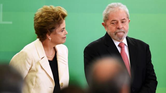 L'entrée de l'ex-président Lula au gouvernement a été suspendue par la justice.