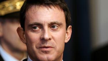 Manuel Valls le 7 février 2014 à Charleville-Mézières.