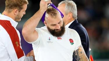 Joe Marler après la finale de la Coupe du monde de rugby, le 2 novembre 2019