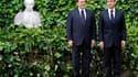 """Silvio Berlusconi et Nicolas Sarkozy se sont retrouvés à Rome pour remettre un peu de sérénité dans des relations franco-italiennes mises à l'épreuve par les conséquences du """"printemps arabe"""" et l'appétit de groupes français pour des entreprises transalpi"""