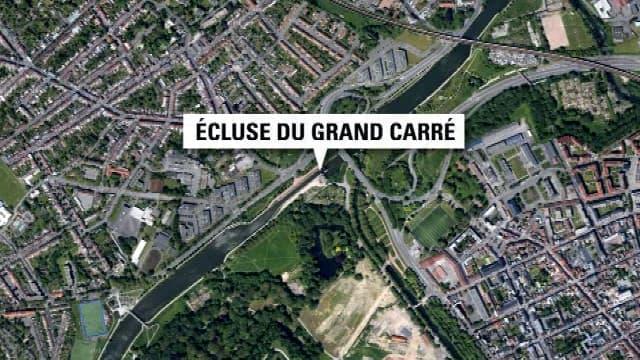 Le corps sans vie de la fillette a été retrouvé dans l'écluse du Grand Carré, à Lille.