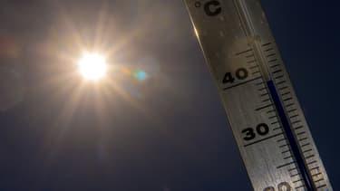 La moyenne de la température annuelle, proche de 14°C, devrait se situer 1,4°C au-dessus de la moyenne de référence. Photo d'illustration