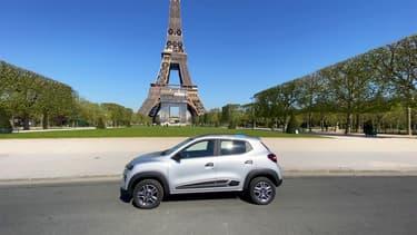Dacia a lancé ce printemps la commercialisation de la Spring, sa première voiture électrique.