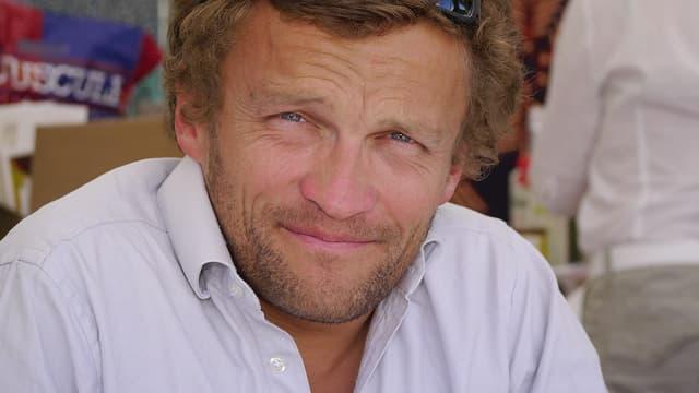 L'écrivain Sylvain Tesson en 2011.
