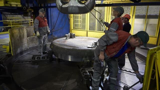 L'usine d'Areva au Creusot