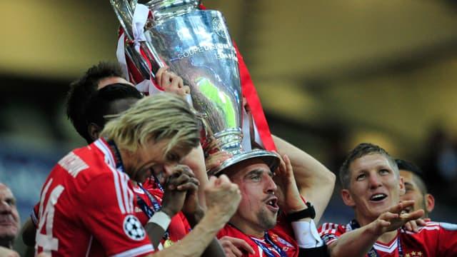 Franck Ribéry tient enfin sa Ligue des champions