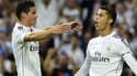 James Rodriguez et Cristiano Ronaldo