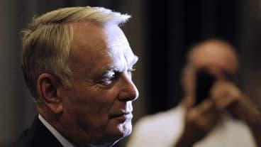 """Jean-Marc Ayrault a déploré que la """"mafia soit à l'oeuvre en Corse""""."""