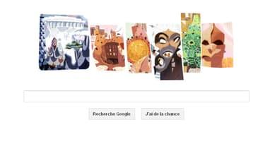 Google rend hommage à Antonio Gaudi dans son doodle