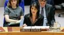 Nikki Haley, l'ambassadrice américaine à l'ONU, le 18 décembre 2017.