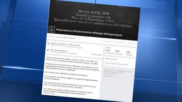 Plus de 9.000 personnes ont répondu présent sur l'événement Facebook du rassemblement, deux jours avant le rendez-vous.