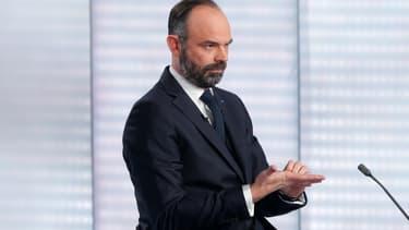 Édouard Philippe le 12 janvier 2020