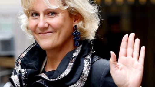 """Pour Nadine Morano (ici le 3 octobre à Paris), le non-lieu de Nicolas Sarkozy est """"une bonne nouvelle""""."""
