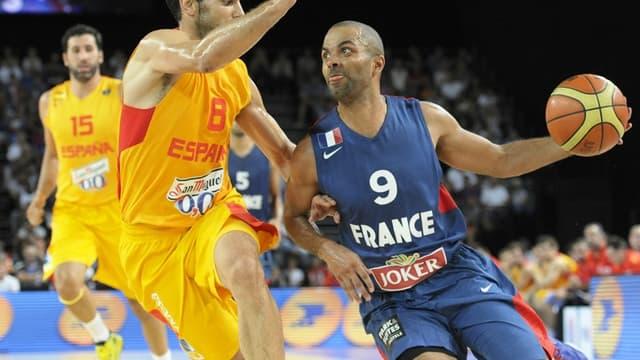Malgré les 29 points de Tony Parker, la France s'est inclinée face à l'Espagne